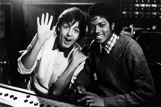 Paul McCartney doi quyen loi tu cong ty cua Michael Jackson hinh anh