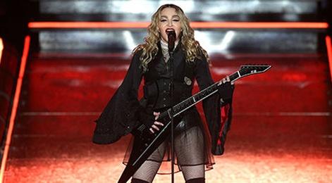 Madonna dung dau danh sach Ca si solo kiem tien gioi nhat hinh anh