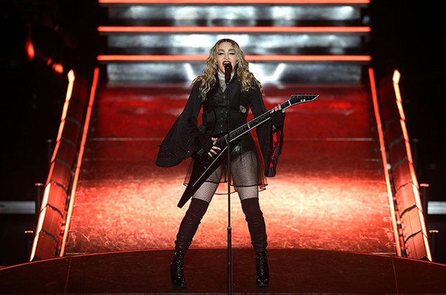 Madonna dung dau danh sach Ca si solo kiem tien gioi nhat hinh anh 1