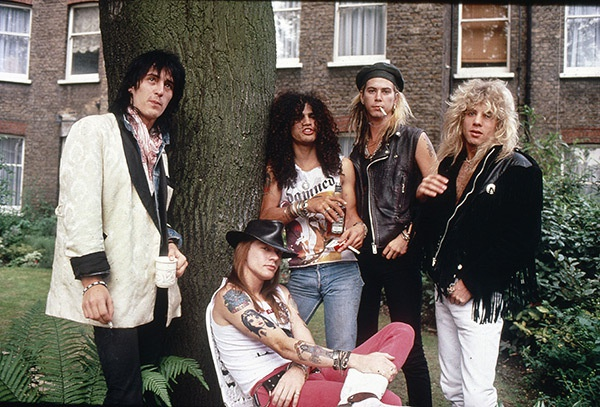Guns N' Roses tai hop sau 23 nam tan ra hinh anh