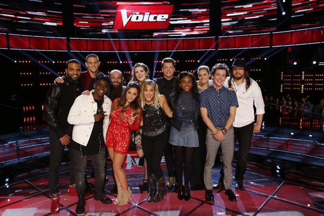 Top 12 The Voice My lo dien sau vong Playoff hinh anh