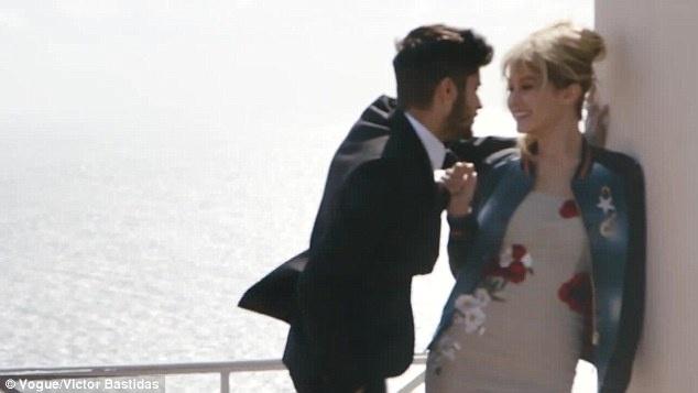 Gigi Hadid va Zayn Malik nong bong tren tap chi Vogue hinh anh