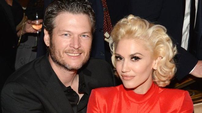 Blake Shelton va Gwen Stefani song ca trong album moi hinh anh