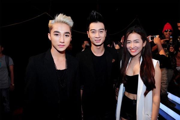 Trang Moon: 'Toi va SlimV chi la anh em tot' hinh anh