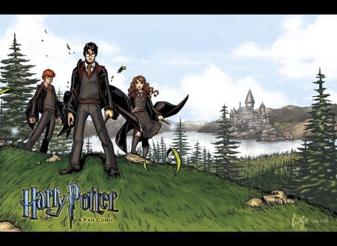 du an truyen tranh Harry Potter anh 1