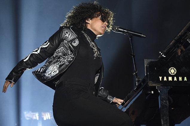 Alicia Keys ra mat ca khuc tai chung ket Champions League hinh anh