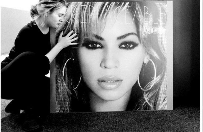 Fan thich thu phan ung cua Adele ve album moi cua Beyonce hinh anh