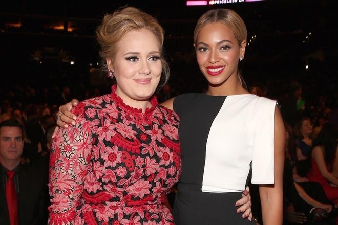 Fan thich thu phan ung cua Adele ve album moi cua Beyonce hinh anh 1