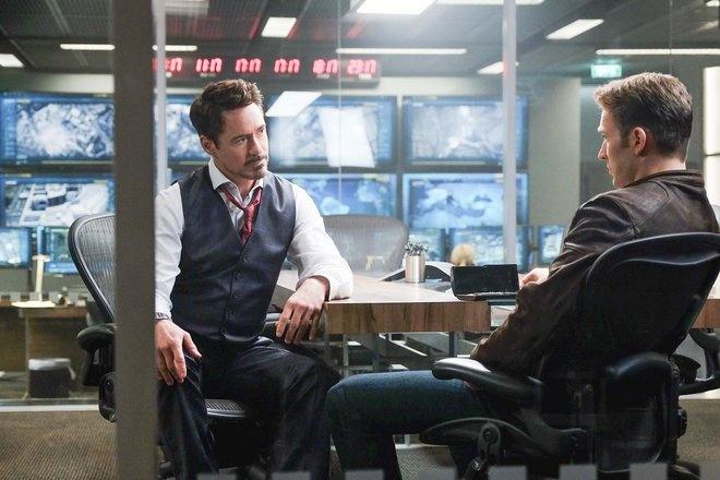 Cuoc chien thoi trang giua Captain America va Iron Man hinh anh