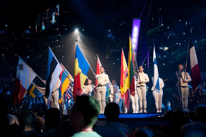 Eurovision cam thi sinh dua ra quan diem chinh tri hinh anh