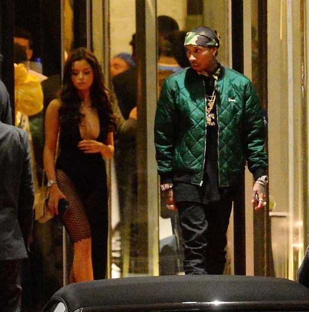 Rapper goc Viet ben ban gai moi sau chia tay Kylie Jenner hinh anh 2