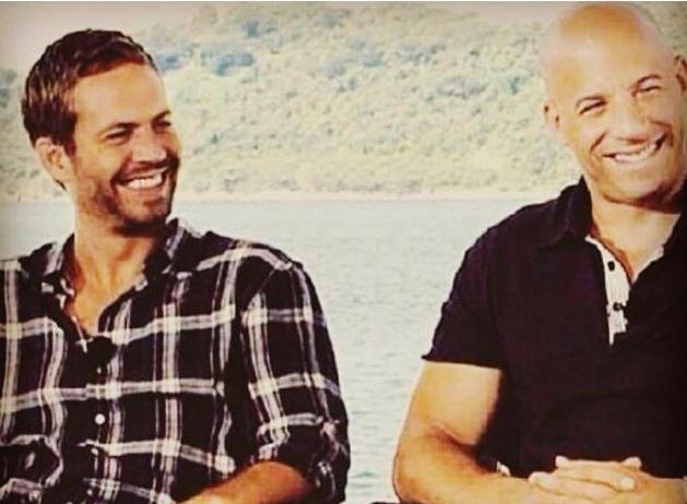 Vin Diesel tuong nho Paul Walker tai phim truong 'Furious 8' hinh anh