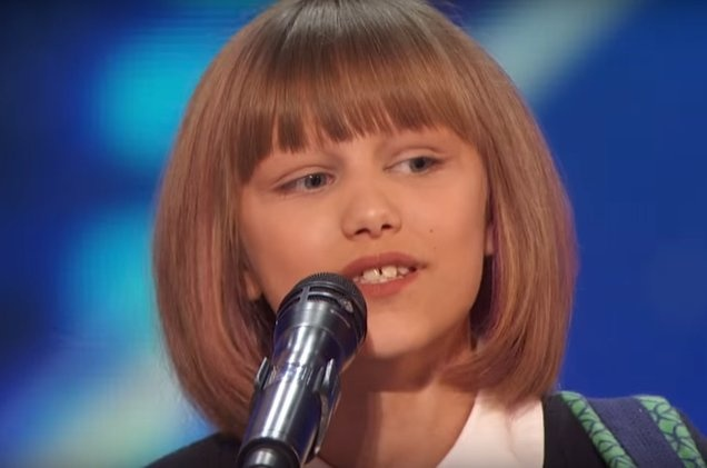 Taylor Swift thu 2 tai American's Got Talent anh 1