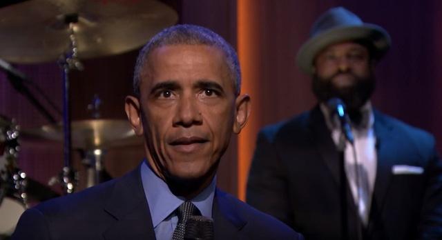 Tong thong Obama hat nhac soul tren truyen hinh hinh anh