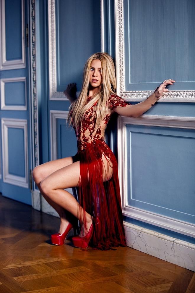 Shakira - Nang WAG xinh dep va tai nang cua Gerard Pique hinh anh 6