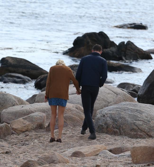 Taylor Swift hon 'Loki' tren bien sau khi chia tay ban trai hinh anh 1