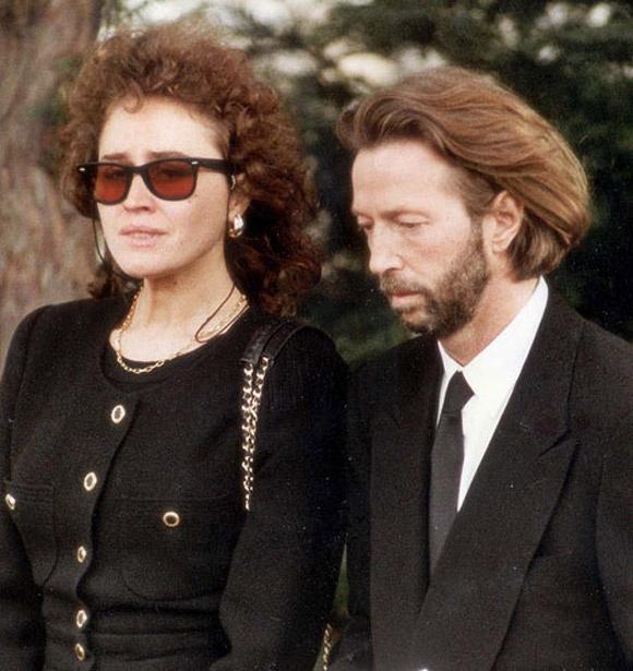 Eric Clapton va bi kich cua mot nguoi cha mat con hinh anh 2