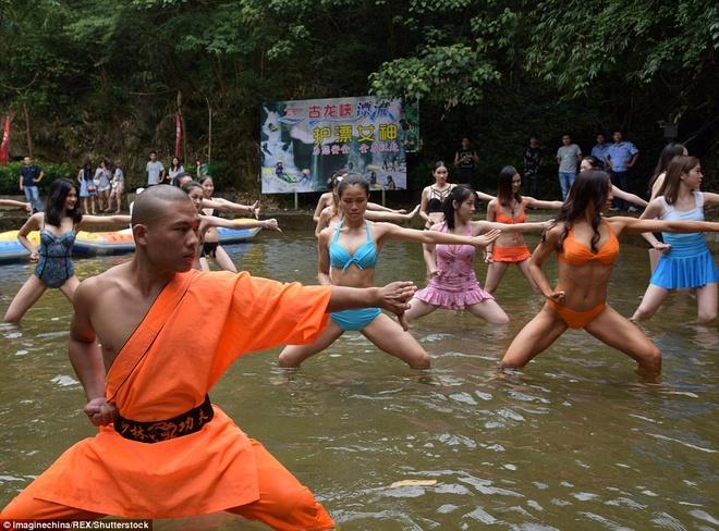 Su Thieu Lam day vo nu cuu ho gay tranh cai hinh anh 1