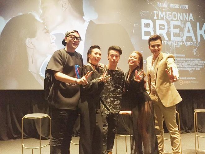 Triple D khong nen cai toi de viet nhac cho Hoang Thuy Linh hinh anh 1
