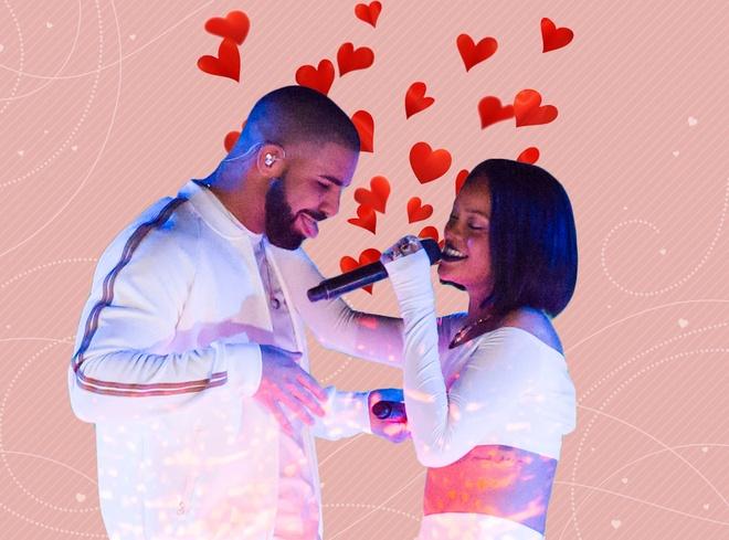 Rihanna va Drake noi lai tinh cu hinh anh