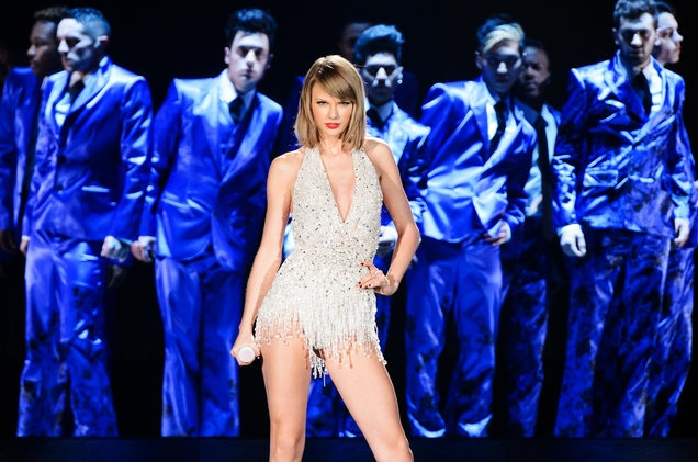 Taylor Swift la nghe si kiem tien nhieu nhat the gioi hinh anh