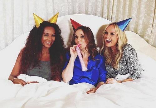 Mel B khang dinh Spice Girls se tai hop voi ten cu hinh anh