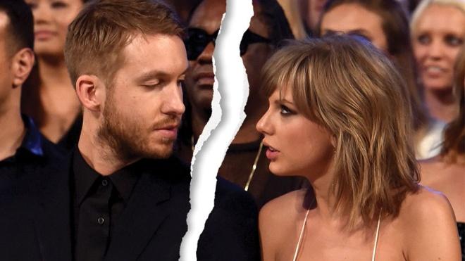 Taylor Swift chia tay Calvin Harris vi mot bai hat hinh anh