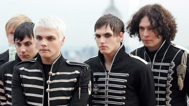 My Chemical Romance tai phat hanh album 'The Black Parade' hinh anh