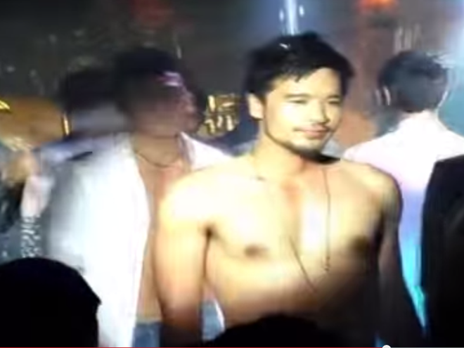 Chong sap cuoi cua Ngoc Lan lo clip coi tran dien o bar gay hinh anh