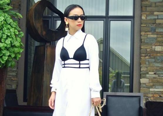 MC Huyen Ny va nhung set do dam chat fashionista hinh anh