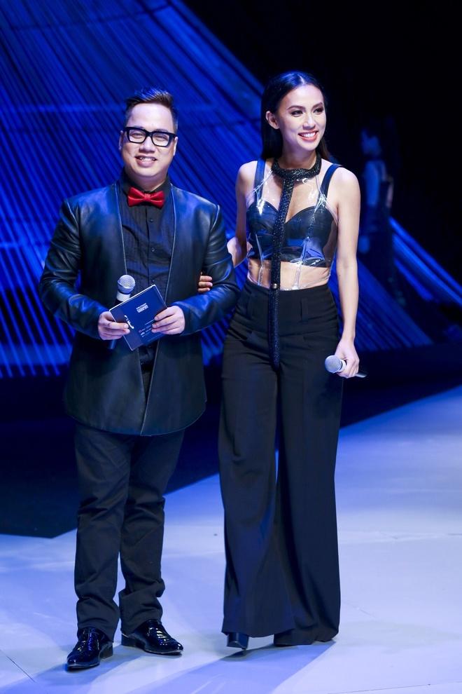Huyen Ny - co nang MC tao bao nhat showbiz Viet hinh anh 10