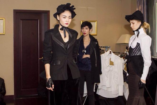 Xuan Lan casting nguoi mau o Thuong Hai hinh anh