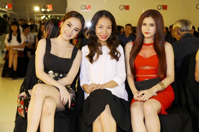Angela Phuong Trinh - Quynh Anh quyen ru o tiec thoi trang hinh anh 5