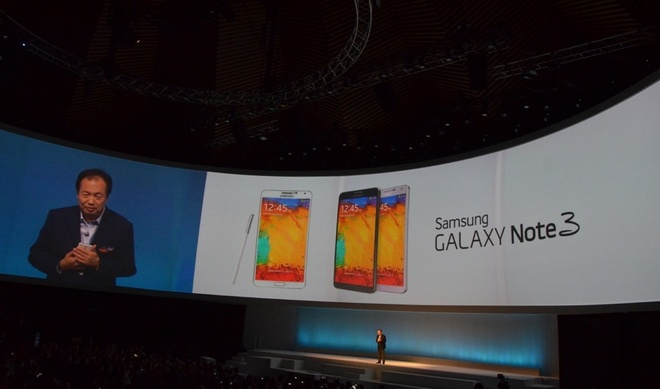 Toan canh le ra mat Galaxy Note 3, Note 10.1 va Galaxy Gear hinh anh 17