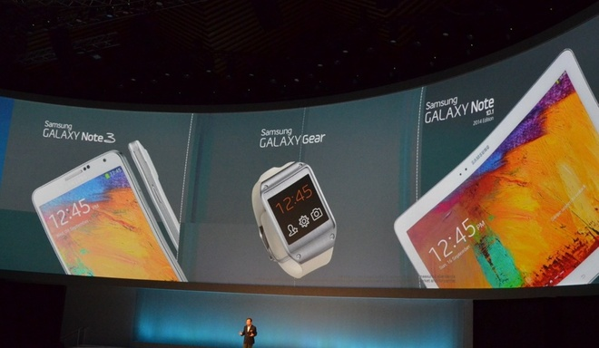 Toan canh le ra mat Galaxy Note 3, Note 10.1 va Galaxy Gear hinh anh 12