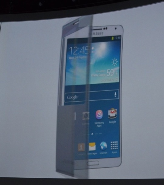 Toan canh le ra mat Galaxy Note 3, Note 10.1 va Galaxy Gear hinh anh 11