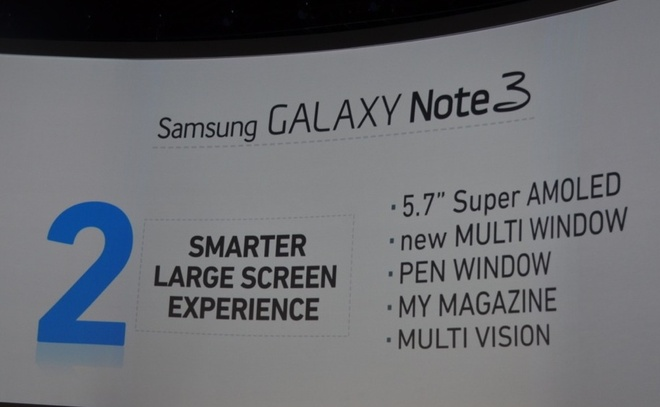 Toan canh le ra mat Galaxy Note 3, Note 10.1 va Galaxy Gear hinh anh 6