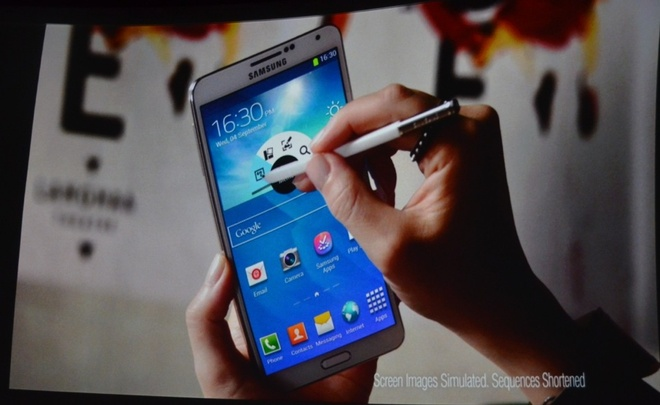 Toan canh le ra mat Galaxy Note 3, Note 10.1 va Galaxy Gear hinh anh 2