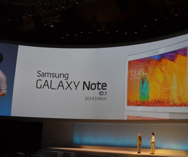 Toan canh le ra mat Galaxy Note 3, Note 10.1 va Galaxy Gear hinh anh 1