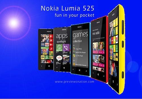 Nokia Lumia 525 la ban nang cap cua 520 hinh anh
