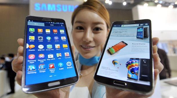 Samsung la Pepsi doi dau 'Coca-Cola' Apple hinh anh