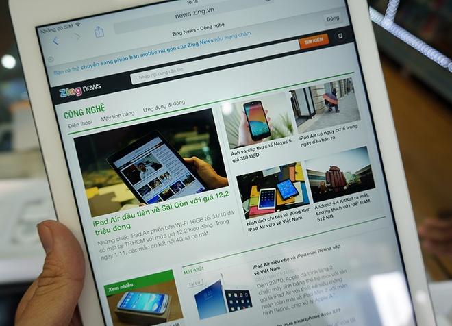 Dap hop iPad Air 4G dau tien ve Viet Nam gia 17,4 trieu dong hinh anh