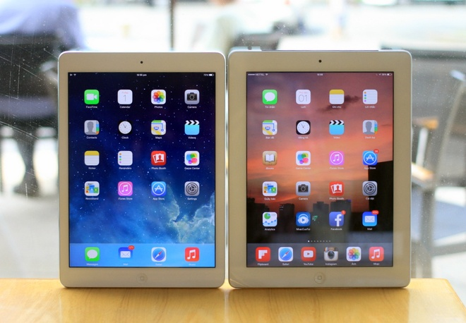 iPad Air so dang iPad 3: Nhieu thay doi trong thiet ke hinh anh 1