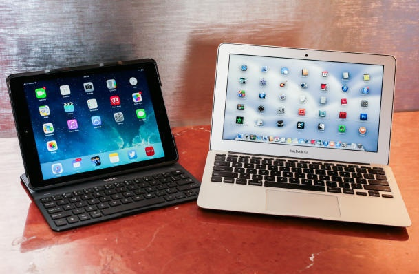 iPad Air co the thay the duoc MacBook Air? hinh anh