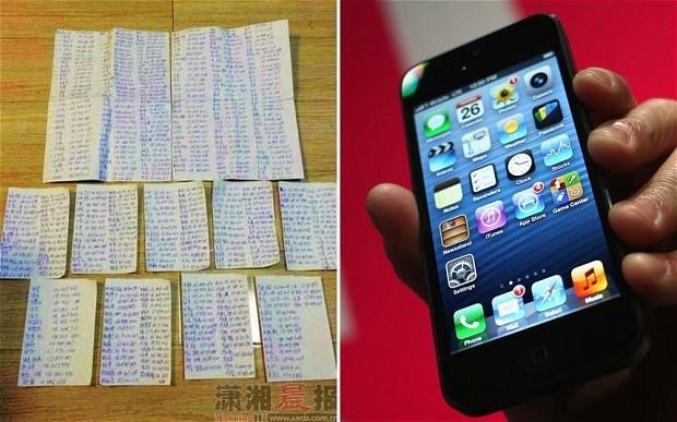 Ten trom iPhone chep lai 1.000 so dien thoai gui chu nhan hinh anh