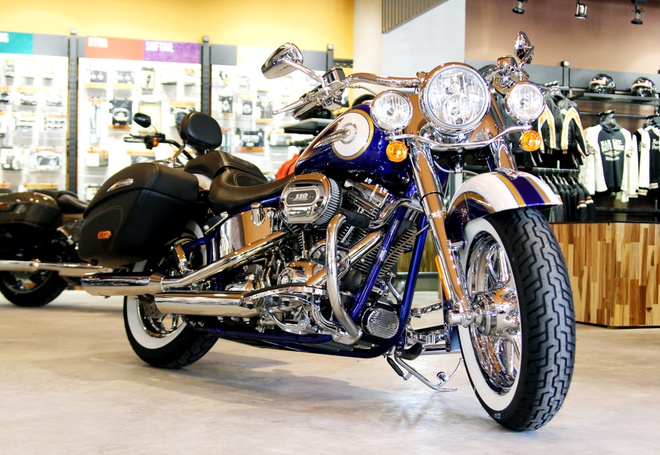 Harley-Davidson son thu cong gia 1,4 ty dong o Viet Nam hinh anh
