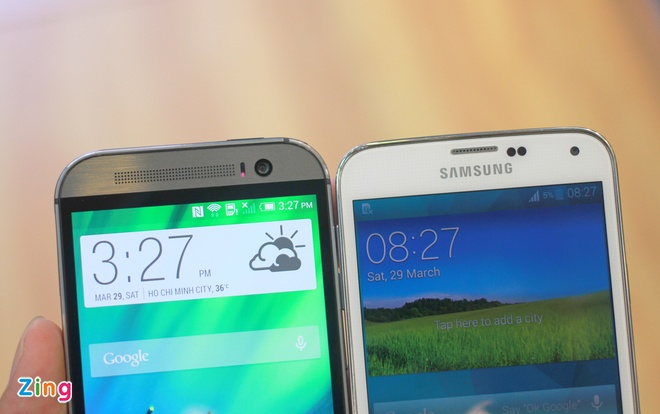 Galaxy S5 so dang HTC One M8 o VN hinh anh 4