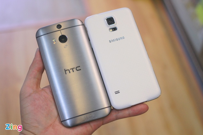 Galaxy S5 so dang HTC One M8 o VN hinh anh 5