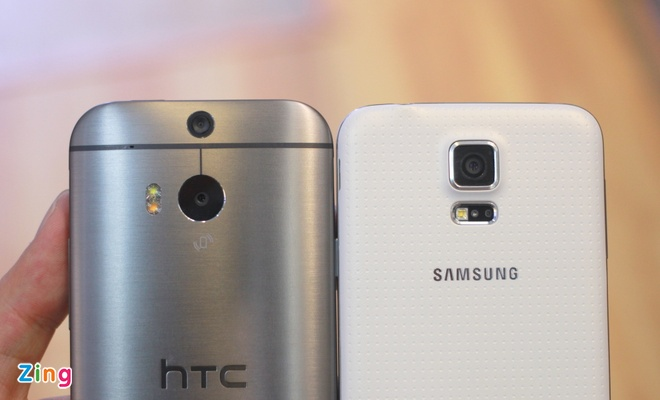 Galaxy S5 so dang HTC One M8 o VN hinh anh 6