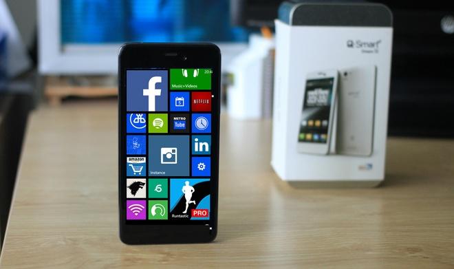 Q-mobile sap ra 4 smartphone gia re chay Windows Phone o VN hinh anh